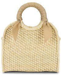 Sensi Studio X Revolve Midi Handbag - Natural