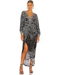 Camilla Twist Front Dress - Mehrfarbig