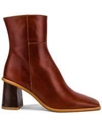 Alohas West Bootie - Brown