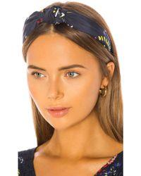 Tanya Taylor Printed Headband - Blue