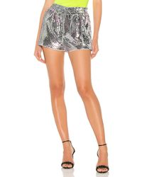 Pam & Gela Sequin high waist shorts - Multicolor
