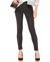 Yummie By Heather Thomson - Signature Faux Suede Legging - Lyst