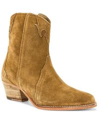 Free People New Frontier Western Boot - Blue