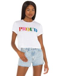 Beach Riot Pride Tシャツ - ホワイト