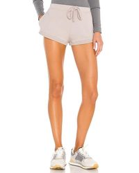 Free People X Fp Movement Where The Wind Blow Short Solid - Grey
