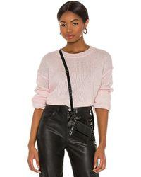 Splendid Marled Flurry Sweater - Pink