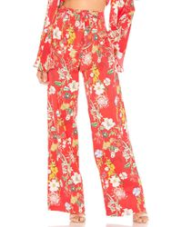 Parker - Stanley Pant In Red - Lyst