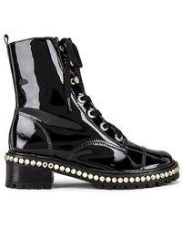 Schutz S-andorra Lace Up Boot - Black