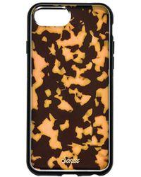 Sonix Brown Tortoise iPhone 6/7/8 Case - Braun