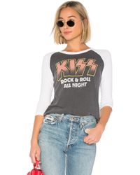 Junk Food - Kiss Rock And Roll All Night Tee - Lyst