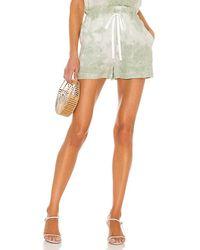 Bella Dahl Paper Bag Pocket Short - Green