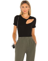 n:PHILANTHROPY Rosey Tシャツ - ブラック