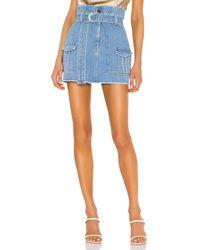 FRAME スカート. Size 24,25,26,27,28,29,30. - ブルー