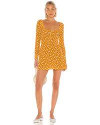 Privacy Please Giustina Mini Dress - Gelb