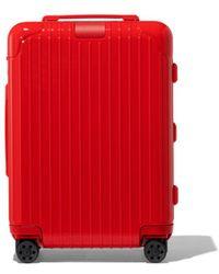 RIMOWA Essential Cabin Suitcase - Red