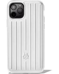 RIMOWA Custodia in alluminio con scanalature per iPhone 11 Pro - Multicolore