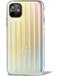 RIMOWA イリディセント Iphone 11 ケース - マルチカラー