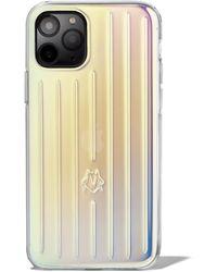 RIMOWA Iridescent Groove Case For Iphone 11 Pro - Multicolour