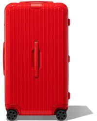 RIMOWA - Trunk リモワ エッセンシャル トランク スーツケース レッド - Lyst