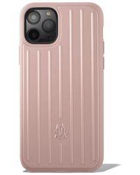RIMOWA デザート ローズ ピンク グルーヴ Iphone 11 Pro ケース