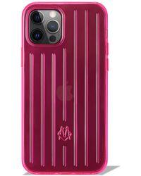 RIMOWA Neon ピンク Iphone 12 & 12 Pro ケース Neon ピンク Iphone 12 & 12 Pro ケース