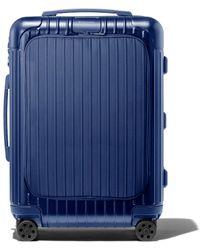 RIMOWA - Cabin リモワ エッセンシャル スリーブ キャビン スーツケース ブルー - Lyst