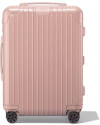 RIMOWA Essential Cabin Lightweight Suitcase - Pink