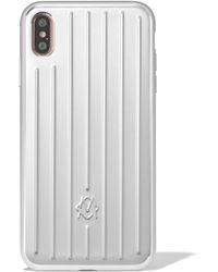 RIMOWA Aluminum Groove Case For Iphone Xs Max - Multicolor