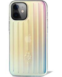 RIMOWA Iridescent Case For Iphone 12 Mini - Multicolor