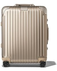RIMOWA Cabin Plus リモワ オリジナル キャビン プラス スーツケース チタニウム - マルチカラー