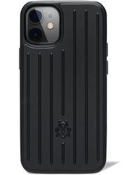 RIMOWA Custodia Nero opaco per iPhone 12 Mini