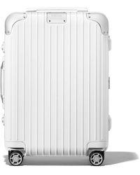 RIMOWA Cabin S リモワ ハイブリッド キャビン S スーツケース ホワイト