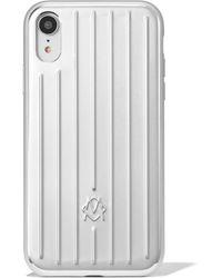 RIMOWA Aluminium Groove Case For Iphone Xr - Multicolor