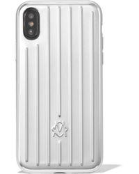 RIMOWA アルミニウム Iphone Xs ケース - マルチカラー