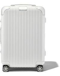 RIMOWA Hybrid Cabin S - White