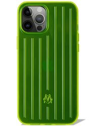 RIMOWA Coque Neon jaune Lime pour iPhone 12 Pro Max - Vert