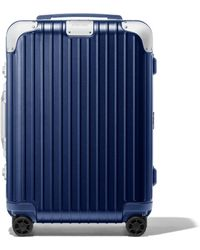 RIMOWA Check-in L リモワ ハイブリッド チェックイン L スーツケース ブルー