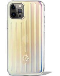 RIMOWA Coque Irisée pour iPhone 12 & 12 Pro - Multicolore