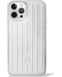 RIMOWA Coque Aluminium pour iPhone 12 & 12 Pro - Multicolore