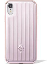 RIMOWA アルミニウム Iphone Xr ケース - マルチカラー