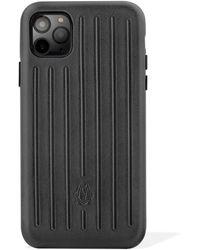 RIMOWA レザー Iphone 11 Pro Max ケース - ブラック