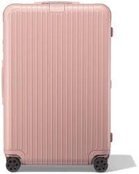 RIMOWA Essential Check-in L Suitcase - Pink
