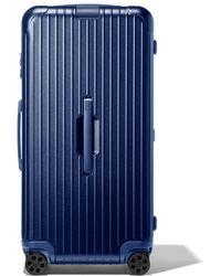 RIMOWA - Trunk Plus リモワ エッセンシャル トランク プラス スーツケース ブルー - Lyst