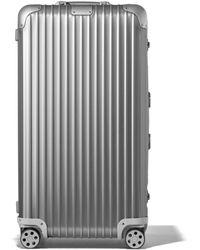 RIMOWA Original Trunk Plus Suitcase - Metallic