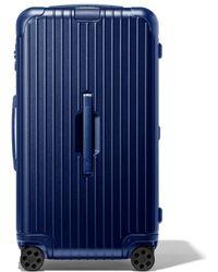 RIMOWA Essential Trunk Valise - Bleu