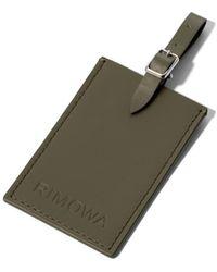 RIMOWA Luggage Tag - Green