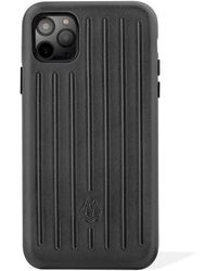 RIMOWA Leather Black Case For Iphone 11 Pro Max