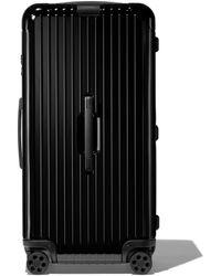 RIMOWA Essential Trunk Plus Suitcase - Black