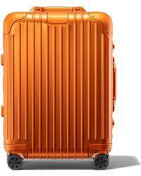 RIMOWA Trunk Plus リモワ オリジナル トランク プラス スーツケース マーズ オレンジ