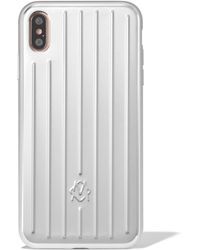 RIMOWA Aluminum Groove Case For Iphone Xs Max - Multicolour